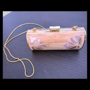 Judith Leiber evening clutch.  never used!